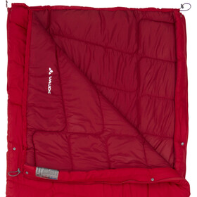 VAUDE Navajo 500 Syn Makuupussi, dark indian red